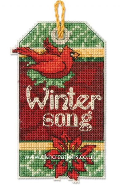 Winter Song Ornament Cross Stitch Kit